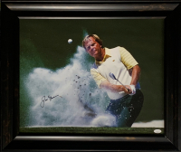 Jack Nicklaus Signed 20.5x24.5 Custom Framed Canvas Print Display (JSA Hologram) at PristineAuction.com