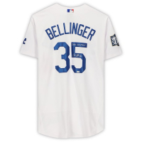 """Cody Bellinger Signed 2020 World Series Dodgers Jersey Inscribed """"2020 WS Champs"""" (Fanatics Hologram) at PristineAuction.com"""