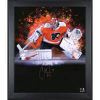 Carter Hart Signed Flyers 23x27 Custom Framed Photo Display (Fanatics Hologram) at PristineAuction.com