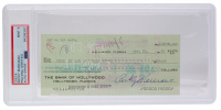 Rocky Marciano Signed 1963 Personal Bank Check (PSA Encapsulated) at PristineAuction.com