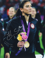 Hope Solo Signed Team USA 11x14 Photo (JSA COA) (See Description) at PristineAuction.com