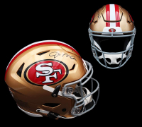 Joe Montana Signed 49ers Full-Size Authentic On-Field SpeedFlex Helmet (Radtke COA) at PristineAuction.com