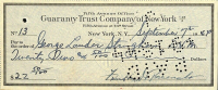 Franklin D. Roosevelt Signed 1944 Personal Bank Check (Beckett LOA) at PristineAuction.com