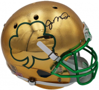 Joe Montana Signed Notre Dame Fighting Irish Full-Size Chrome Helmet (Radtke COA) at PristineAuction.com