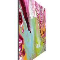 Retro by Elana Reiter - 36x48 Abstract Wall Art, Modern Home Decor at PristineAuction.com