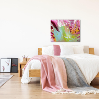 Retro by Elana Reiter - 24x32 Abstract Wall Art, Modern Home Decor at PristineAuction.com