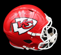 Joe Montana Signed Chiefs Full-Size Authentic On-Field Speed Helmet (Radtke COA) at PristineAuction.com