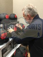 Joe Montana Signed Chiefs Full-Size Eclipse Alternate Speed Helmet (Radtke COA) at PristineAuction.com