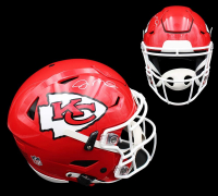 Joe Montana Signed Chiefs Full-Size Authentic On-Field SpeedFlex Helmet (Radtke COA) at PristineAuction.com