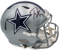Tony Romo Signed Cowboys Full-Size Authentic On-Field Speed Helmet (Beckett Hologram) at PristineAuction.com