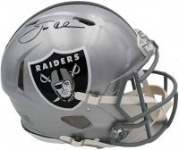 Jon Gruden Signed Raiders Full-Size Authentic On-Field Speed Helmet (Radtke COA) at PristineAuction.com
