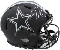 Tony Romo Signed Cowboys Full-Size Authentic On-Field Eclipse Alternate Speed Helmet (Beckett Hologram) at PristineAuction.com