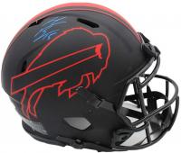 "John ""Smokey"" Brown Signed Bills Full-Size Authentic On-Field Eclipse Alternate Speed Helmet (Radtke COA) at PristineAuction.com"