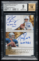 Peyton Manning / Tony Romo 2008 Ultimate Collection Ultimate Inscriptions Dual #3 (BGS 9) at PristineAuction.com