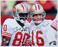 Joe Montana & Jerry Rice Signed 49ers 16x20 Photo (Schwartz Sports COA) at PristineAuction.com