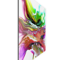 Compression by Elana Reiter - 36x48 Abstract Wall Art, Modern Home Decor at PristineAuction.com
