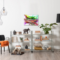 Compression by Elana Reiter - 18x24 Abstract Wall Art, Modern Home Decor at PristineAuction.com