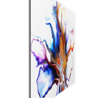 Eruption by Elana Reiter - 36x48 Abstract Wall Art, Modern Home Decor at PristineAuction.com