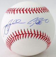 Jeff Bagwell & Craig Biggio Signed OML Baseball (TriStar Hologram) at PristineAuction.com