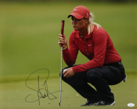 Suzann Pettersen Signed 16x20 Photo (JSA COA) at PristineAuction.com
