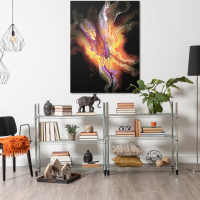 Creation by Elana Reiter - 36x48 Abstract Wall Art, Modern Home Decor at PristineAuction.com