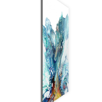 Glacier by Elana Reiter - 18x24 Abstract Wall Art, Modern Home Decor at PristineAuction.com