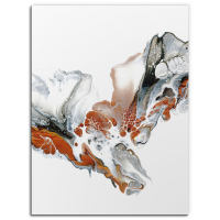 Cascade by Elana Reiter - 18x24 Abstract Wall Art, Modern Home Decor at PristineAuction.com