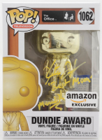 """Kate Flannery Signed """"The Office"""" #1062 Dundie Award Funko Pop! Vinyl Figure Inscribed """"Best Mom"""" & """"Meredith"""" (PSA COA) at PristineAuction.com"""