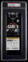 2018 Steelers VS. Patriots 3x7.5 Game 9 Ticket (PSA 6) at PristineAuction.com