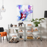 Concealed by Elana Reiter - 36x36 Abstract Wall Art, Modern Home Decor at PristineAuction.com