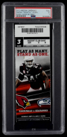 2012 Cardinals vs. Seahawks NFL Game Ticket (PSA 3) at PristineAuction.com