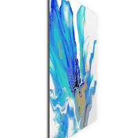 Arctic by Elana Reiter - 24x24 Abstract Wall Art, Modern Home Decor at PristineAuction.com