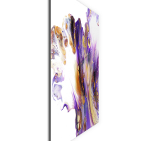 Feathered by Elana Reiter - 48x48 Abstract Wall Art, Modern Home Decor at PristineAuction.com