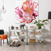 Floral by Elana Reiter - 48x48 Abstract Wall Art, Modern Home Decor at PristineAuction.com