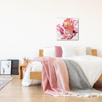 Floral by Elana Reiter - 24x24 Abstract Wall Art, Modern Home Decor at PristineAuction.com