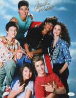 """Mario Lopez & Mark-Paul Gosselaar Signed """"Saved by the Bell"""" 11x14 Photo Inscribed """"A.C. Slater"""" & """"Zack"""" (JSA COA) at PristineAuction.com"""