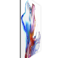 Hinged by Elana Reiter - 24x24 Abstract Wall Art, Modern Home Decor at PristineAuction.com