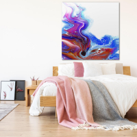Drained by Elana Reiter - 48x48 Abstract Wall Art, Modern Home Decor at PristineAuction.com