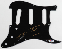 Romero Britto Signed Electric Pickguard (PSA COA) at PristineAuction.com