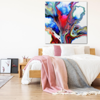 Emerging by Elana Reiter - 48x48 Abstract Wall Art, Modern Home Decor at PristineAuction.com