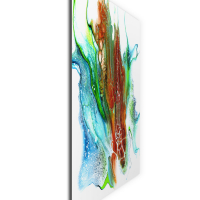 Oxidation by Elana Reiter - 36x36 Abstract Wall Art, Modern Home Decor at PristineAuction.com