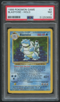 Blastoise 1999 Pokemon Base Unlimited #2 HOLO (PSA 7) at PristineAuction.com