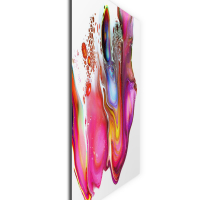 Warped by Elana Reiter - 36x36 Abstract Wall Art, Modern Home Decor at PristineAuction.com