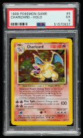 Charizard 1999 Pokemon Base Unlimited #4 HOLO (PSA 5) at PristineAuction.com