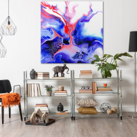 Thermal by Elana Reiter - 48x48 Abstract Wall Art, Modern Home Decor at PristineAuction.com