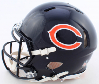 Eddie Jackson Signed Bears Full-Size Authentic On-Field Speed Helmet (Beckett COA) at PristineAuction.com