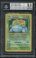 Venusaur 1999 Pokemon Base Unlimited #15 HOLO (BGS 8.5) at PristineAuction.com
