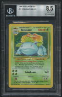 Venusaur 1999 Pokemon Base Unlimited #15 HOLO (BGS 8.5) at PristineAuction.com