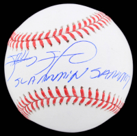 "Sammy Sosa Signed OML Baseball Inscribed ""Slammin Sammy"" (Beckett COA) at PristineAuction.com"