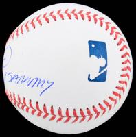 "Sammy Sosa Signed OML Baseball Inscribed ""Slammin Sammy"" (Beckett COA) at PristineAuction.com"